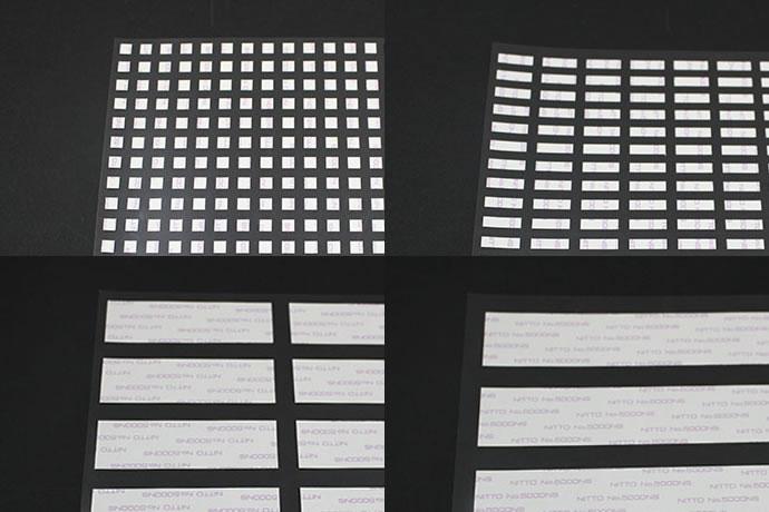四角型の両面テープ