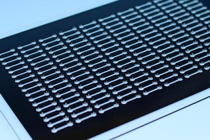 マイクロプレートの製作・加工