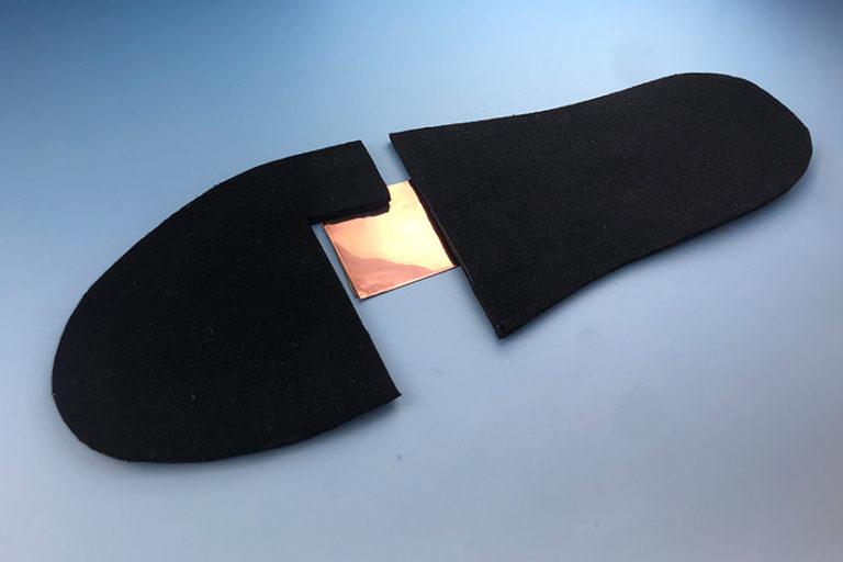 保温性のある靴の中敷きの生産をサポートした事例